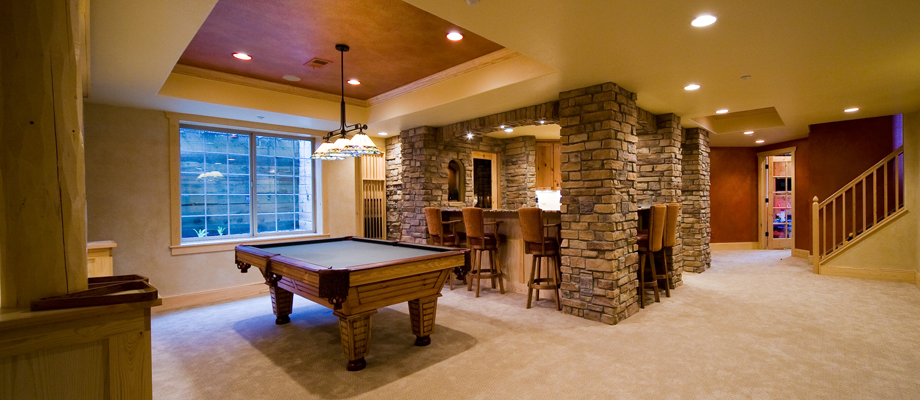 go back gallery for luxury finished basements